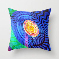 Vertigo Throw Pillow by Karl Wilson Photography