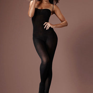 Opaque Slimming Bodystocking PLUS