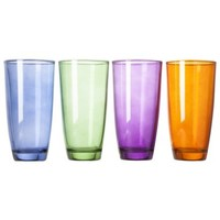 Libbey Camelot High Ball Set of 4 - Multicolor (Large)