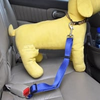 New 2014 Lefdy Strong pet Dog Car Travel Seat Belt Clip Lead Restraint Harness Auto traction leads 4 Colour