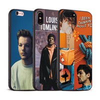 Louis Tomlinson Coque Fashion Soft Silicone Phone Case Cover Shell For Apple iPhone 5 5s Se 6 6s 7 8 Plus X XR XS MAX