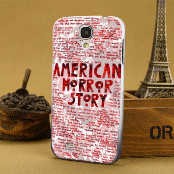 american horor story quote blod for iPhone 4/4s,iPhone 5/5s,5c,6 samsung galaxy S3,S4,S5, hard case