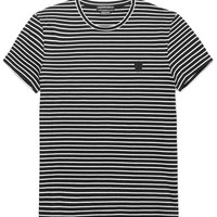 Alexander McQueen - Slim-Fit Striped Cotton T-Shirt
