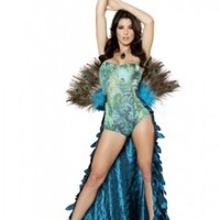 2pc Pretty Peacock @ Amiclubwear costume Online Store,sexy costume,women's costume,christmas costumes,adult christmas costumes,santa claus costumes,fancy dress costumes,halloween costumes,halloween costume ideas,pirate costume,dance costume,costumes for