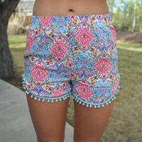 Touch of Neon Shorts