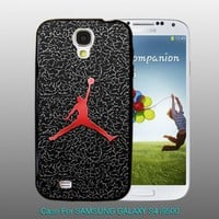 Nike Air Jordan Basketball - design for Samsung Galaxy S4 Black case