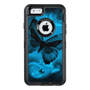 Blue Butterfly OtterBox Defender iPhone Case