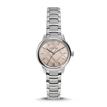 Burberry Women's Stainless Steel Bracelet Watch 32mm BU10111