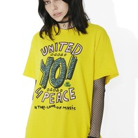 United 4 Peace Graphic Tee
