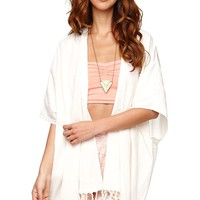 Billabong Whisper With Me Kimono - Womens Shirts -