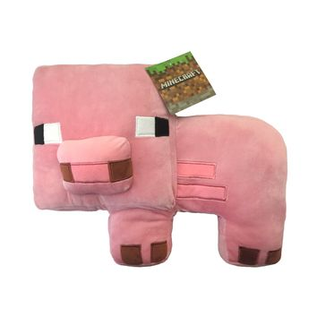 MineCraft Plush Pig Pillow Buddy