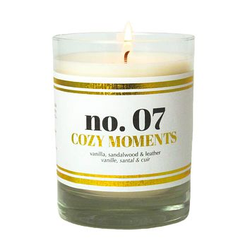 No. 07 Cozy Moments Scented Soy Candle