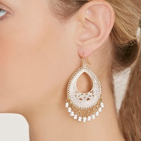 Bead Drop Earrings | Forever 21 - 1000205189
