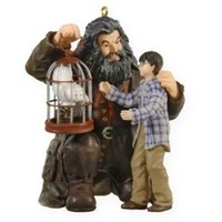 2009 Harry Potter, Hagrid and Hedwig Keepsake Ornament at Hooked on Hallmark Ornaments