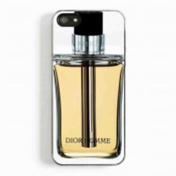 dior homme perfume for iphone 5 and 5c case