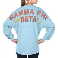 Gamma Phi Beta - Fun 'n Flair Spirit Jersey® Gamma Phi Beta