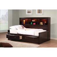Phoenix Collection Full Storage Bed