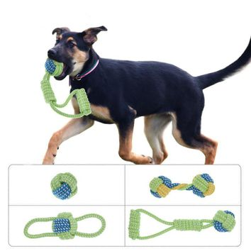Green and Blue Ultra Durable Dog Rope Toys