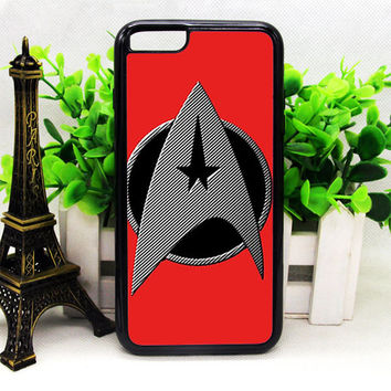 STAR TREK LOGO RED IPHONE 6 | 6 PLUS | 6S | 6S PLUS CASES
