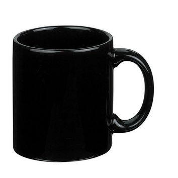 Ben and Jonah Coffee Mug Set of 4 (Black)