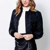 Kendall & Kylie Nylon Bomber Jacket at PacSun.com
