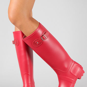 Rain, Rain Go Away Boots - Red