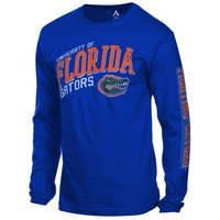 Florida Gators Jersey Hit Long Sleeve T-Shirt - Royal Blue