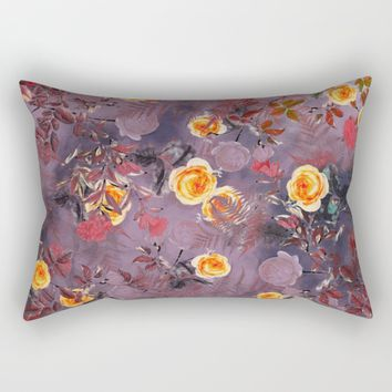 flowers art Rectangular Pillow by jbjart