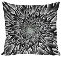 Trippy Slate - Custom Couch Pillow