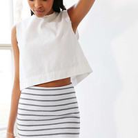 Silence + Noise Textured Striped Mini Skirt - Urban Outfitters