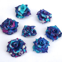 Galaxy Rose Sparkling Fridge or Office Magnets (2 pack)