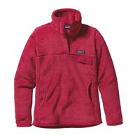Patagonia Women's Re-Tool Snap-T® Fleece Pullover | Portofino Pink - Rossi Pink X-Dye