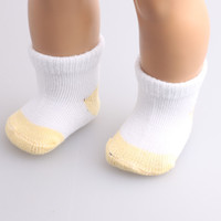 "Free shipping Hot 2016 new style popular "" American girl doll Sockb499"