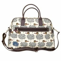 Fruit Tree & Bird Overnight Bag - Gifts For Her from the gifted penguin UK