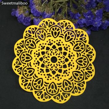 Circular Flower Lace Metal Stamps Cutting Dies Photo Invitation Paper Card craft making scrapbook die cutter stencils embossing