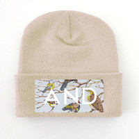 ANDCLOTHING — Pastel Bird AND Beanie