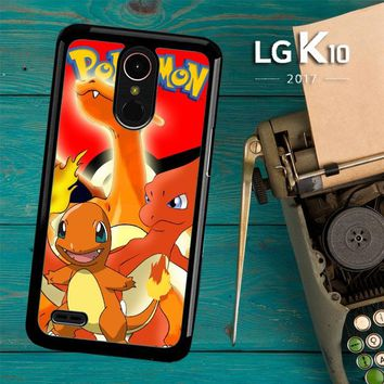 Charizard Pokemon Z2216 LG K10 2017 / LG K20 Plus / LG Harmony Case