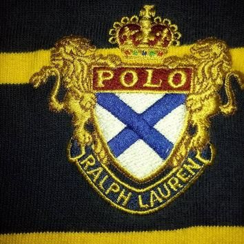 CLEARANCE SALES 50% Polo Ralph lauren rugby polo t-shirts embroidered logo stripe mult