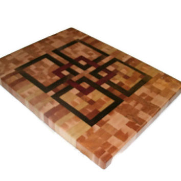 End Grain Hardwood Cutting Board 18 x 22 x 1.25