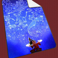"""Mickey Mouse Wicked Disney Kids Blanket Game Blanket All Character Popular Game, Cute and Awesome Blanket for your bedding, Blanket fleece """"NP"""""""