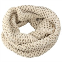 eFuture(TM) Beige Women Stylish Winter Warm Chunky Knit Infinity Soft Loop Scarf +eFuture's nice Keyring: Amazon.ca: Sports & Outdoors