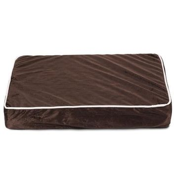 Chenille Orthopedic Memory Foam Rectangle Dog Bed by Majestic Pet Products