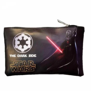 Star Wars Force Episode 1 2 3 4 5 New Arrival Famous Design Organizer Wallets Anime Cosplay /Captain America/Super Man Lady Make Up Bag Phone Bags AT_72_6