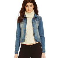 Gianni Bini Cassidy Denim Jacket | Dillards