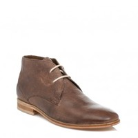 J.G.HARRISONS MENS BROWN LEATHER BOOTS
