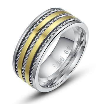 Stainless Steel Cable Chain Ring