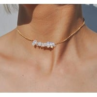 Pebbled Choker Necklace