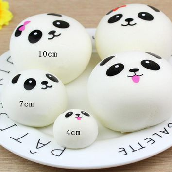 Cute Bread Squishy Slow Rising Cream Scented Decompression Toys Decoration