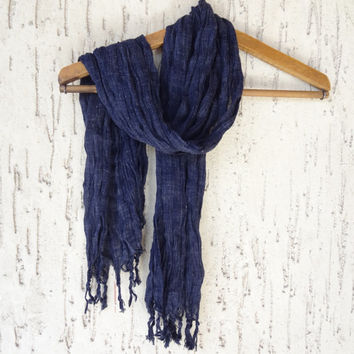 Handwoven infinity scarf, Black Scarves, Natural,Organic Scarf, Fashion accessories, Women Scarves