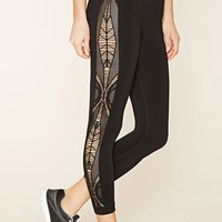 Active Lasercut Leggings